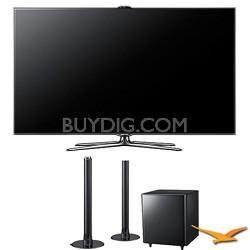 "UN46ES7500 46"" 240hz 1080p 3D Wifi LED HDTV Plus HW-E550 Air Track Soundbar"