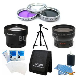 Pro Shooter 37mm Lens Kit for the Sony HDR-CX160 Camcorder