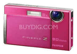 FINEPIX Z100fd 8MP Digital Camera (Shell Pink)
