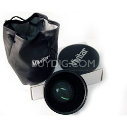 Pro .43x Wide Angle Lens w/ Macro 58mm threading (Black)
