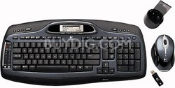 Cordless Desktop MX5000 Laser Mouse and Keyboard **OPEN BOX**