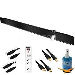"54"" 3.0 Home Theater Sound Bar w/ Integrated Deep Bass Plus Hook-Up Bundle S5430"