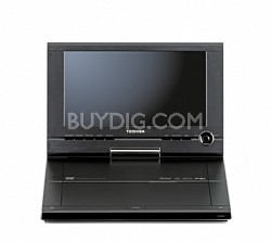 "SD-P91S  Portable DVD Player w/ 9"" LCD Swivel Display"