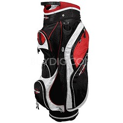 Cart Bag (RCC-1), Black/Red/White