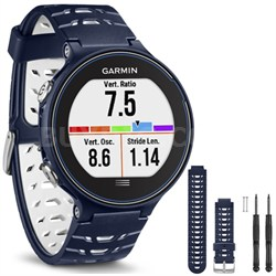Forerunner 630 GPS Smartwatch - Midnight Blue - Midnight Blue Watch Band Bundle