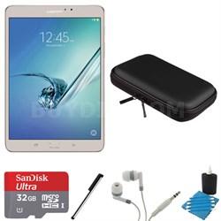 Galaxy Tab S2 8.0-inch Wi-Fi Tablet (Gold/32GB) 32GB MicroSD Card Bundle