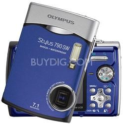 Stylus 790 WS Digital Camera (Blue)