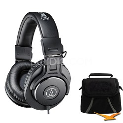 ATH-M30x Professional Headphones Deluxe Bundle
