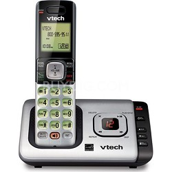 CS6729 DECT 6.0 1 Handset Cordless Phone w/ Caller ID/Call Waiting - Black/Grey