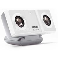 TRAVELSOUND i300 White Speakers