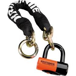 New York Noose 1275 Chain Bicycle Lock w/ Evolution Series 4 Disc Lock