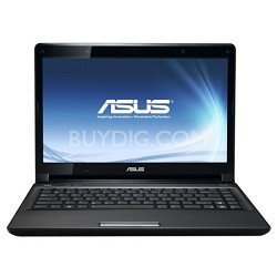 "UL80JT-A2 Notebook - 14"" LED WXGA Display Intel Core I3 330UM"