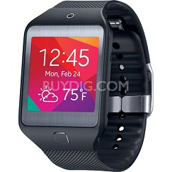 Gear 2 Neo Dust and Water Resistant Black Watch with Heart Rate Sensor