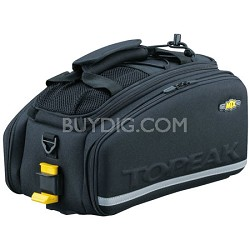 MTX Trunk Bag EXP Bicycle Trunk Bag with Rigid Molded Panels