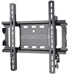 "ML22B - Low Profile Flat Wall Mount for 26"" - 42"" Flat Panel TV's - Black Finish"