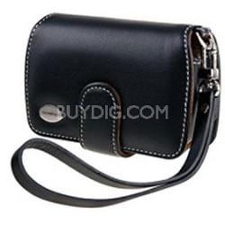 Premium Slim Leather Case (Black)