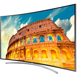 - 55 inch 1080p 240Hz 3D Smart Curved LED HDTV w/ 4 Pairs of 3D Glasses