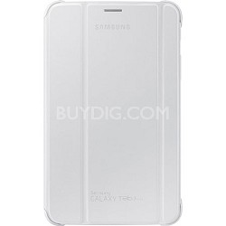 """White Book Cover for 7"""" Galaxy Tab 3 Lite Tablet"""