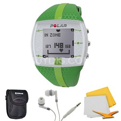FT4 Heart Rate Monitor - Green/Green (90048731) Bundle