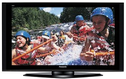 "TH-42PZ77U- 42"" High-definition 1080p Plasma TV with Anti-Glare Filter"