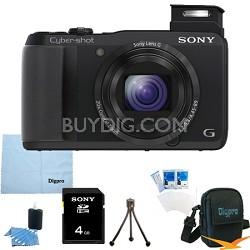 Cyber-shot DSC-HX30V 18.2 MP 20x Optical Zoom Wifi Ultrazoom Camera 4GB Bundle