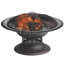 "19.7""H Wood Burning Firebowl"