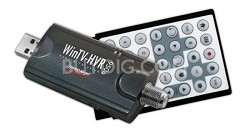 WinTV-HVR-950Q TV Tuner Stick/Personal Video Recorder w/Clear QAM & Remote  1191