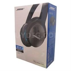 QuietComfort 25 Acoustic Noise Cancelling Headphones Black - OPEN BOX