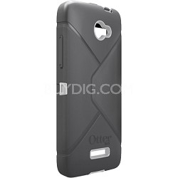 Defender Series Case and Holster for HTC Droid DNA Retail Packaging - Gray/White
