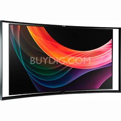 KN55S9C - 55-Inch Curved Panel Smart OLED HDTV