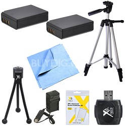 Advanced LP-E10 Battery Pack Bundle for Canon EOS T5 and T3 Digital Cameras