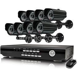 Alpha 8 Channel DVR & 8 Indoor/Outdoor Cameras