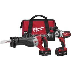 2690-22 M18 Cordless LITHIUM-ION 2-Tool Combo Kit