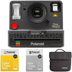 OneStep2 i-Type Instant Film Camera + Bag and Film Bundle