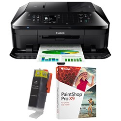 PIXMA MX922 wireless All-In-One Printer w/ Cartridge + PaintShop Pro Bundle