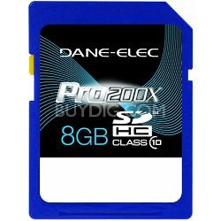 8 GB Secure Digital High Capacity (SDHC) Memory Card Class 10