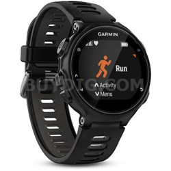 Forerunner 735XT GPS Running Watch with Multisport Features - Black/Gray