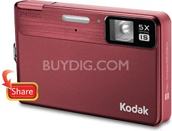"EasyShare M590 14MP 2.7"" LCD Digital Camera (Red)"