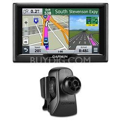 "nuvi 57 5.0""-inch Essential Series 2015 GPS Navigation System Vent Mount Bundle"