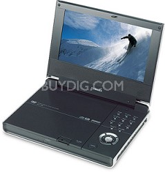 "SD-P1600 Portable DVD Player - 7"" Widescreen TFT LCD Display & JPEG Viewer"