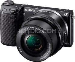 NEX-5RL/B Compact Interchangeable Lens Digital Camera with 16-50 Lens (Black)