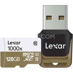 128 GB High-Performance 1000x microSDHC/SDXC UHS-II Memory Card