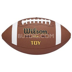 Youth Composite Leather Game Ball Football
