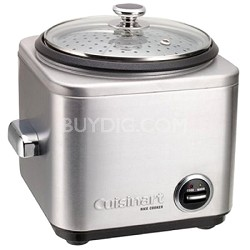 CRC-800 8-Cup Stainless Steel Rice Cooker/Steamer