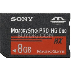 8 GB Memory Stick  PRO-HG DUO HX High Speed