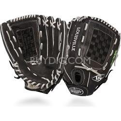 12.75-Inch FG Zephyr Softball Outfielders Glove Left Hand Throw - Black