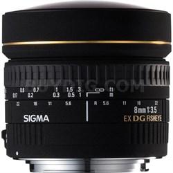8mm f/3.5 EX DG Circular Fisheye Lens for Canon EOS SLR Cameras
