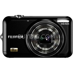 FINEPIX JX250 5x Wide Angle Zoom 14 MP Digital Camera (Black)