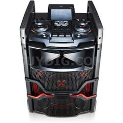 OM5541 - 400W X-Boom Cube Speaker System w/ Bluetooth Connectivity - OPEN BOX