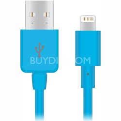 Apple Certified Lightning 8-Pin Charge and Sync Cable (Blue) - 12421